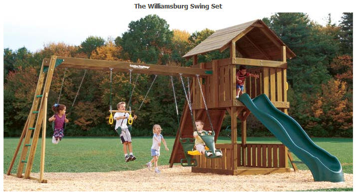 creative playthings swing sets 2