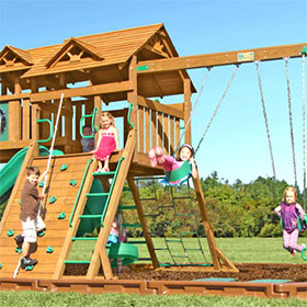 Manchester Wooden Swing Set